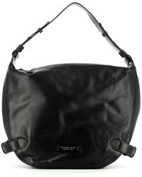 The Bridge Hobo Bag Maria - Zwart