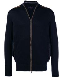 Paul & Shark Cardigan - Blauw