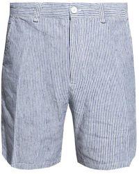 Rag & Bone Striped shorts - Grau