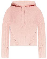 Rag & Bone Hooded Sweater - Roze