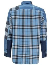 Burberry Shirt with Print Azul