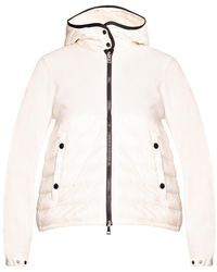 Moncler Hooded Cardigan - Wit
