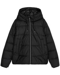 Marc O'polo Hooded Puffer Jacket - Zwart