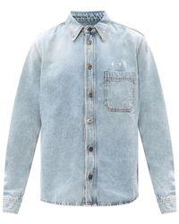 Off-White c/o Virgil Abloh Denim shirt - Bleu