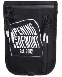 Opening Ceremony Pouch Fanny With Shoulder Strap BAG - Nero