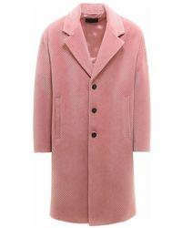 Prada Coat Sgb8401y8a - Roze