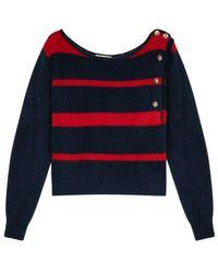 Mes Demoiselles Kersauzon Sweater - Blauw