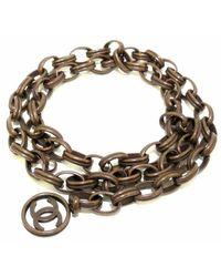 Chanel Vintage Cinturón usado - Marrón