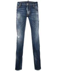 DSquared² - Jeans effetto vissuto - Lyst