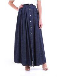WEILI ZHENG Skirt - Bleu