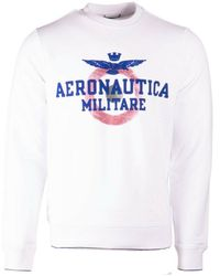 Aeronautica Militare Felpa trui 212fe1632f442 - 73062 - Bianco