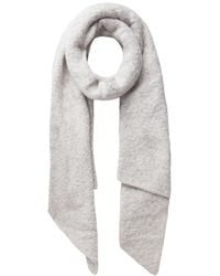 Pieces Soft knitted Long scarf - Neutro