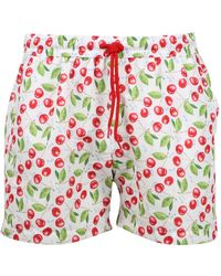 Gcds Swim Shorts - Rood