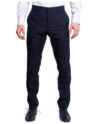 Ganni Trousers - Bleu