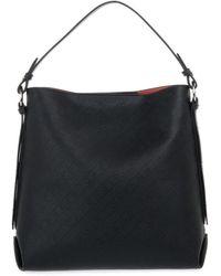 CafeNoir N001 Bauletto Logo Bag - Zwart