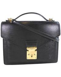Louis Vuitton Monceau - Nero