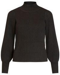 Object Nola Knit Pullover 111 - Nero
