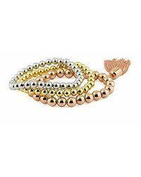 Pierre Cardin Set Bracelet Pxb7975 - Geel