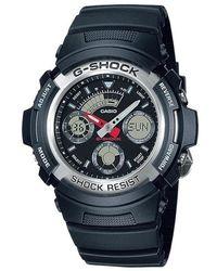 G-Shock Watch Aw-590-1a - Grijs