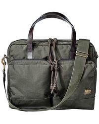 Filson Dryden Briefcase - Groen