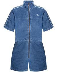 adidas Originals Denim jumpsuit - Blu