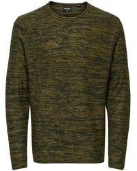 Only & Sons Onscam Life 7 Crew Neck - Groen