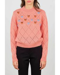 WEILI ZHENG Sweater - Roze