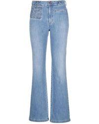 See By Chloé Flared Jeans - Blau