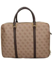 Guess Hmvezlp1314 Briefcase - Bruin