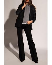 Victoria Beckham Jeans with flared legs Negro