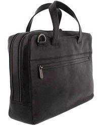 Plevier Midlothian Document Laptop Bag 707 14 Inch - Zwart
