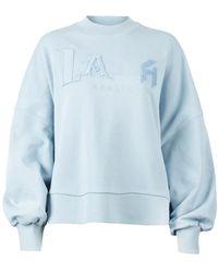 Lala Berlin Sweatshirt Izaya - Blu