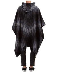 Chanel Vintage Poncho capa arizona Negro