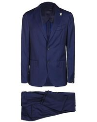 Lardini Suit - Blauw