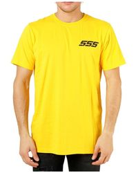 SSS World Corp T-shirt - Jaune