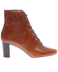 Tory Burch Women's Tal.70 Lace-up Ankle Boot - Bruin