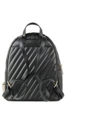 Michael Kors Abbey Quilted Backpack - Noir