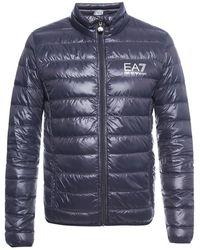 EA7 Down jacket - Blau