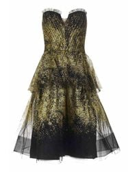 Marchesa Notte Dresses - Zwart