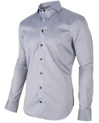 Cavallaro Overhemd Shirt - Blauw