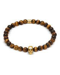 Northskull Skull Bracelet - Bruin
