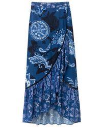 Desigual Skirt - Blauw