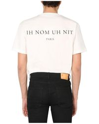 ih nom uh nit Crew Neck T-Shirt Blanco