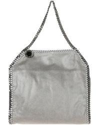 Alix The Label Women's Shoulder Bag Falabella Small Tote shaggy Deer - Grijs