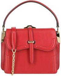 Prada Belle Leather Shoulder Bag - Rood