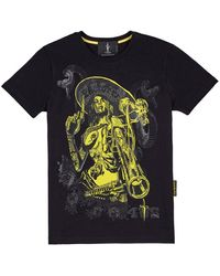 Cesare Paciotti T-shirt - Negro