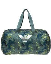 Emporio Armani Men's Bag Handbag - Groen