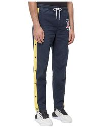 Polo Ralph Lauren Trackpants With Logo - Blauw