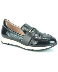 Hispanitas Lace Print Loafer Dz - Zwart