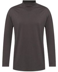 Y-3 T-shirt With Long Sleeves - Grijs